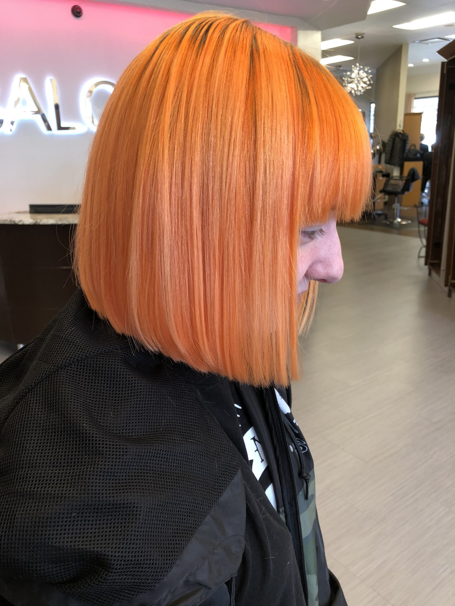 tangerine hair