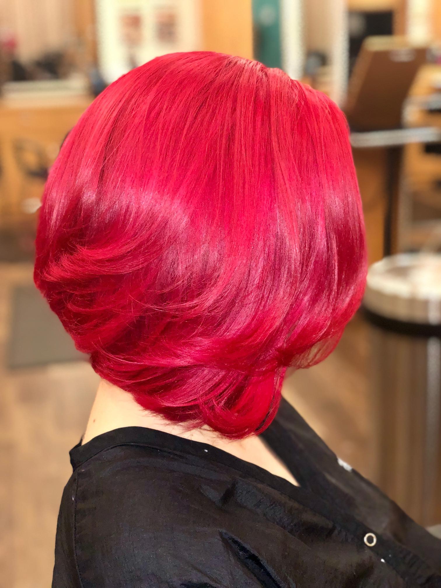 fantasy hair color